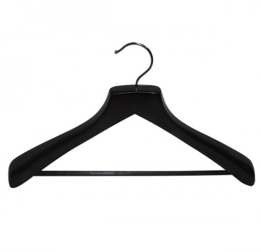 2.5CM Mahogany Coat Hangers Set of 10