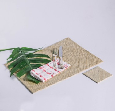 Placemat & Coaster Set for 4