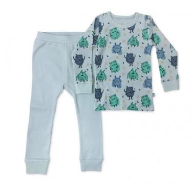 Finn + Emma Monsters Pajamas