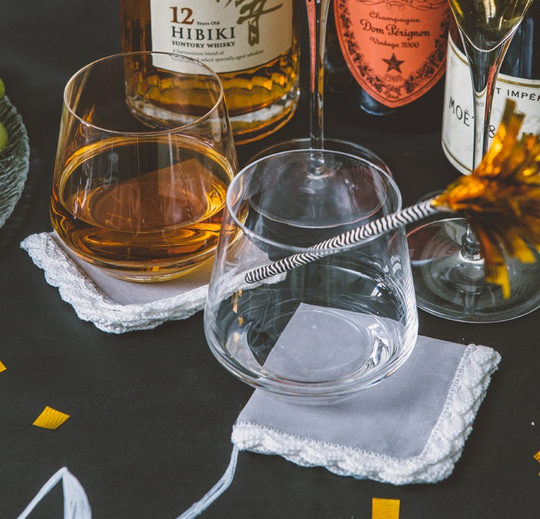 Minda Cocktail Napkins Set for 6