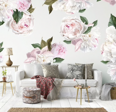 Urban Walls Peonies