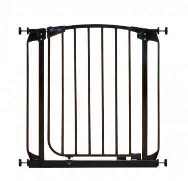 Chelsea Auto-Close Security Gate (Black)