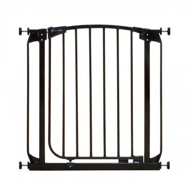 Chelsea Auto-Close Security Gate (Black)