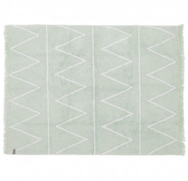 Hippy Soft Mint Washable Rug