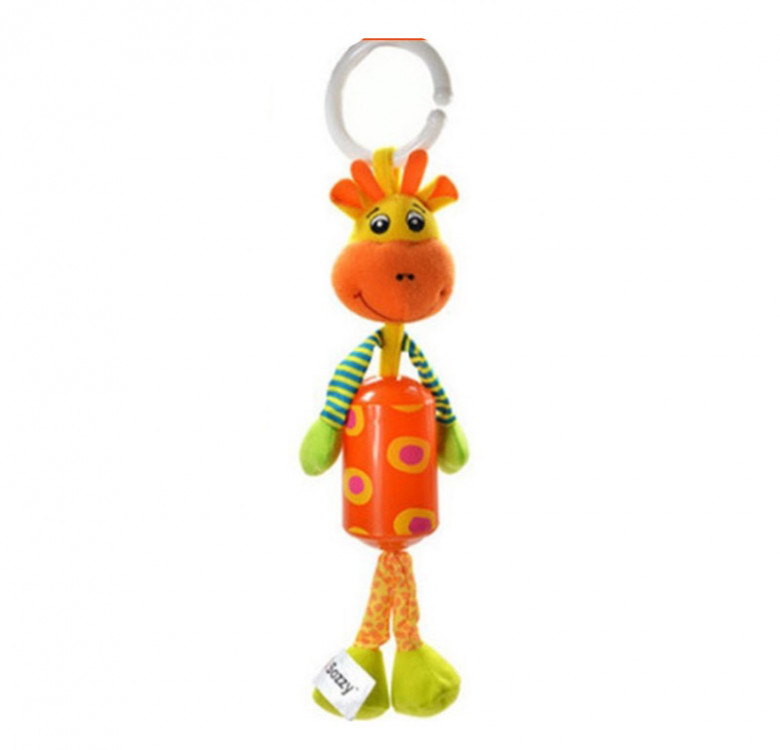 Small Animal Wind Chimes with Stroller Clip