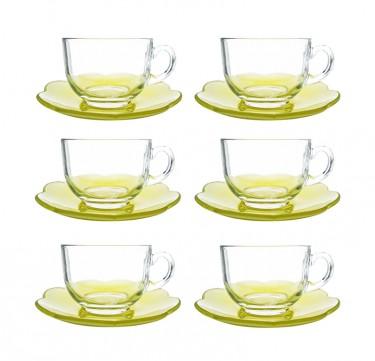 Flore 7oz Cup & 14cm Saucer Set