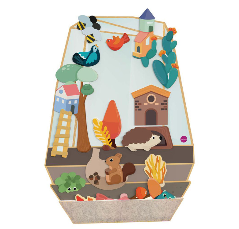 VertiPlay Wall Toy Enchanted Garden
