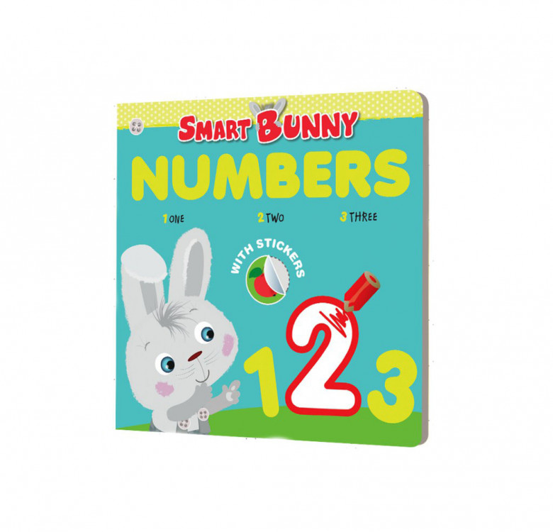 Smart Bunny Early Learner Set (Colors, Numbers, Opposites, Shapes)