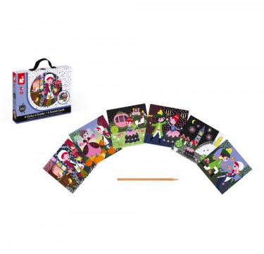 """Cinderella"" Scratch Cards"