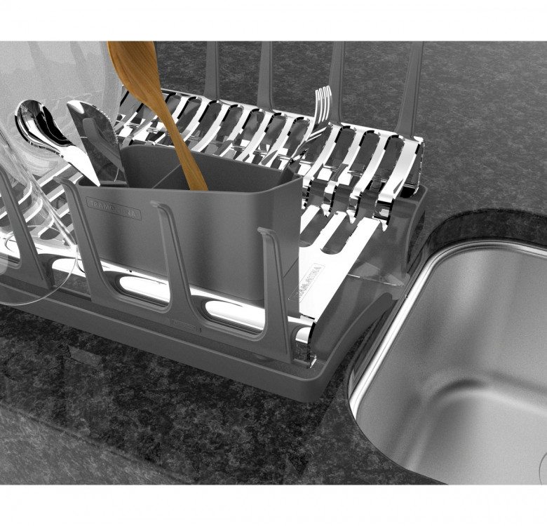 Dish Rack with Drip Tray
