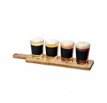 Chalk 4-Piece Beer Tester Set