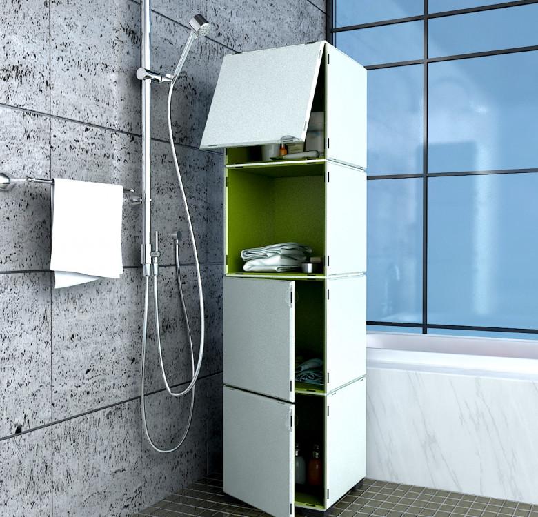Modular Cabinet Set 20 - Monochrome