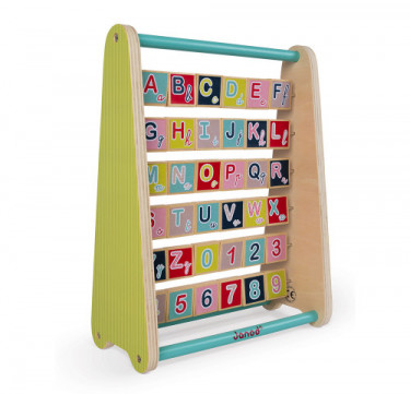 Baby Forest ABC Abacus Toy (English Version)