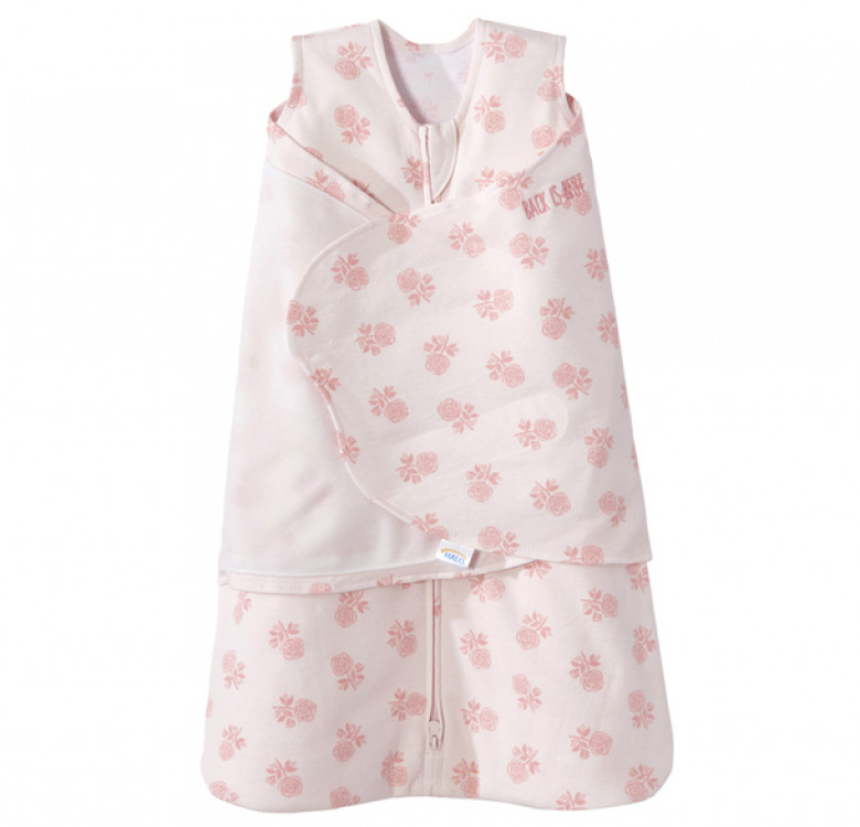 Swaddle Watercolor Rose