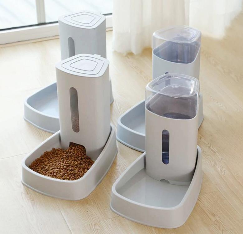 Minimalist Automatic Food & Water Dispenser