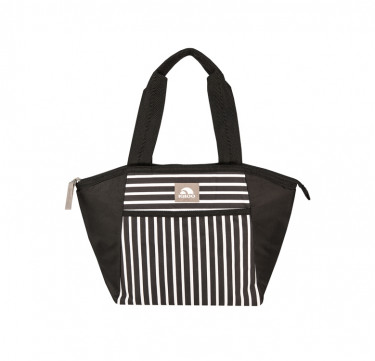 Mini Essential Tote Black & White