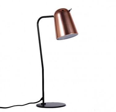 Grimle Rose Gold Table Lamp