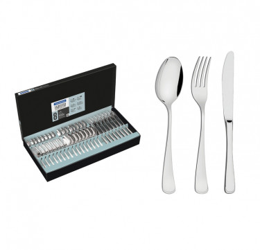 Monaco 48-Piece Flatware Set