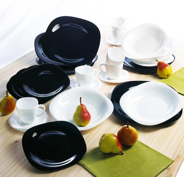 26cm Carine Noir Dinner Plate
