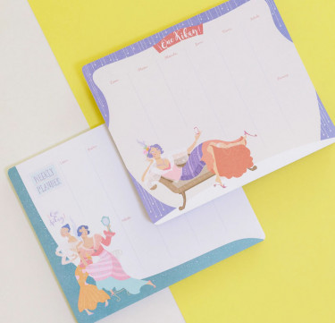 Que Kikay! Weekly Planners (Set of 2)