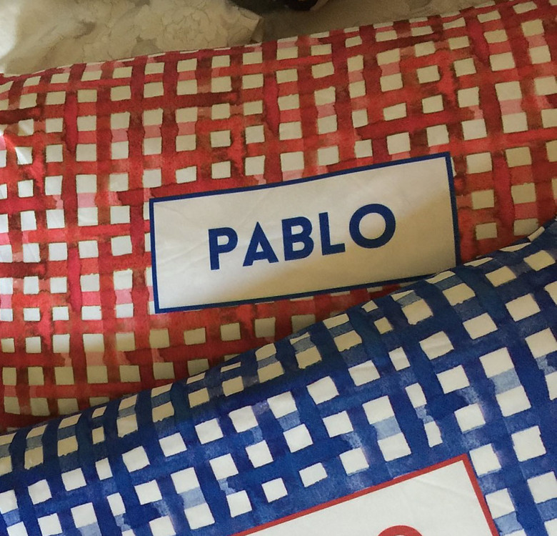 Pair of Personalized Pillow Covers (Designs Available)