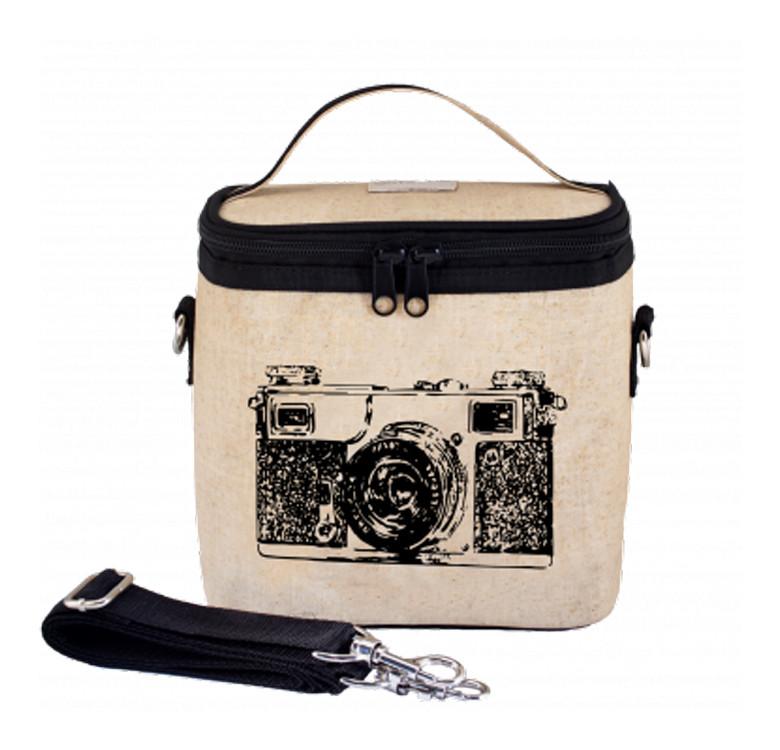 Large Cooler Bag (Black Camera)