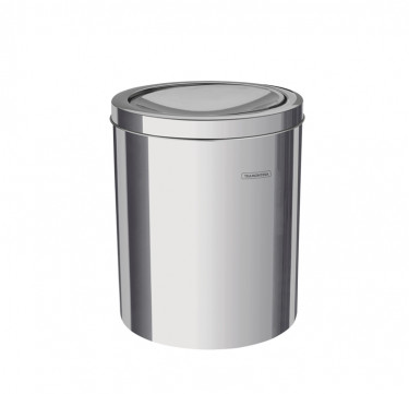 Stainless Steel Trash Bin Swing Type