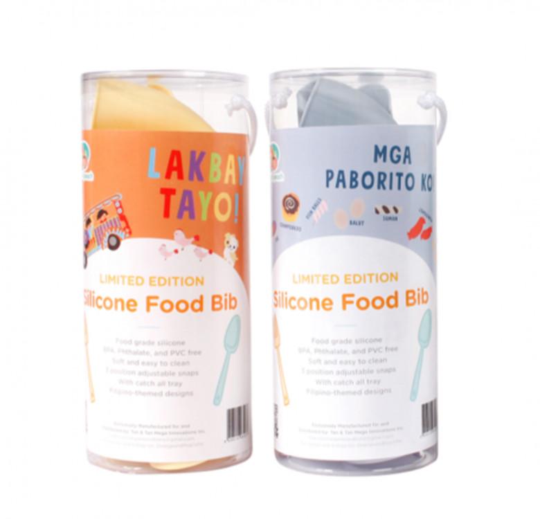 Limited Edition Filipino Travel Silicone Food Bibs