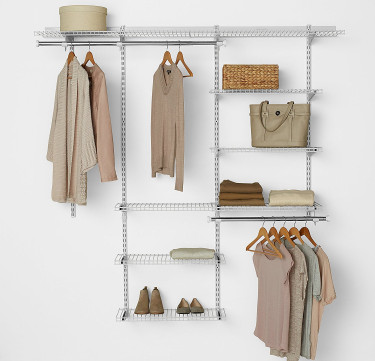 3–6 Ft. Configurations® Deluxe Custom Closet Kit