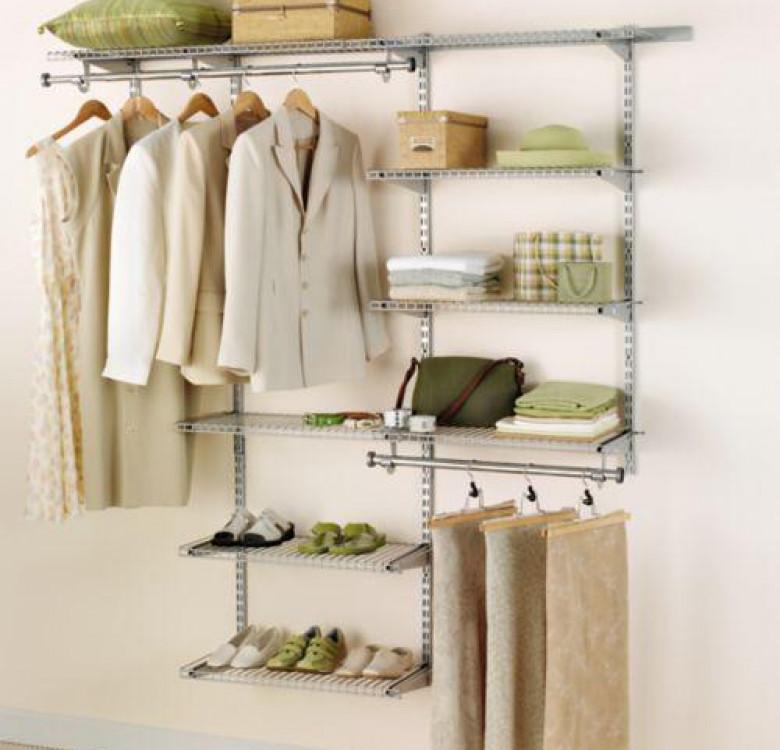 3–6 Ft. Configurations® Deluxe Custom Closet Kit