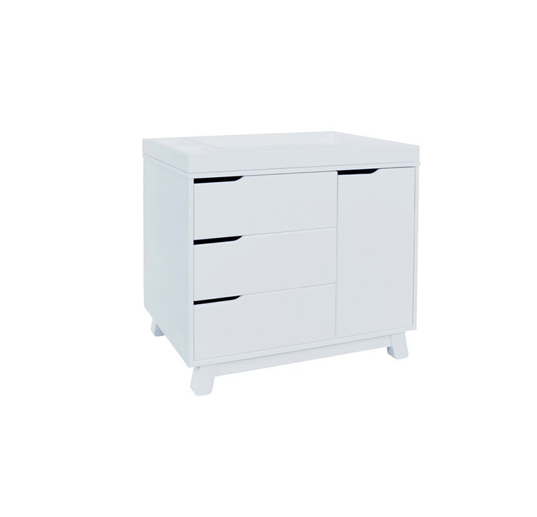 Hudson 3-Drawer Changer with Tray and Changing Pad