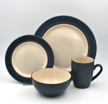 16-Piece Kensington Stone Dinnerware Set