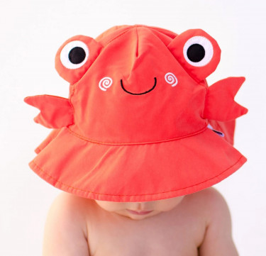 UPF50+ Baby Sun Hat - Charlie the Crab