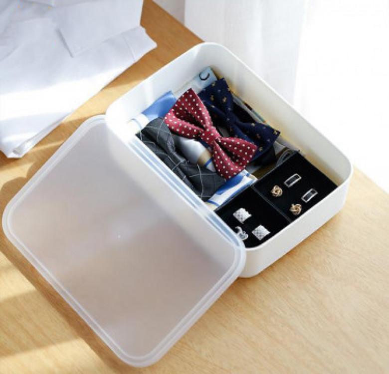 Shimoyama Flat Storage Box with Lid (Small)