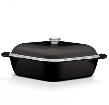 28cm Lyon Induction Square Pot