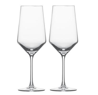 Pure Bordeaux Glass Set of 2