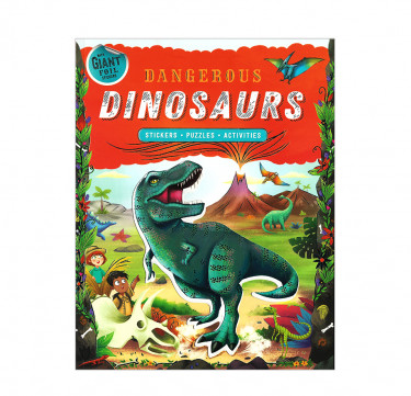 Sticker Activity Adventures Dangerous Dinosaurs