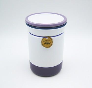 Stonenamel Canister (Plum Purple)