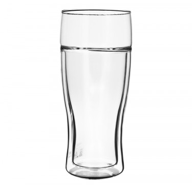 380mL Twin Beer Glass