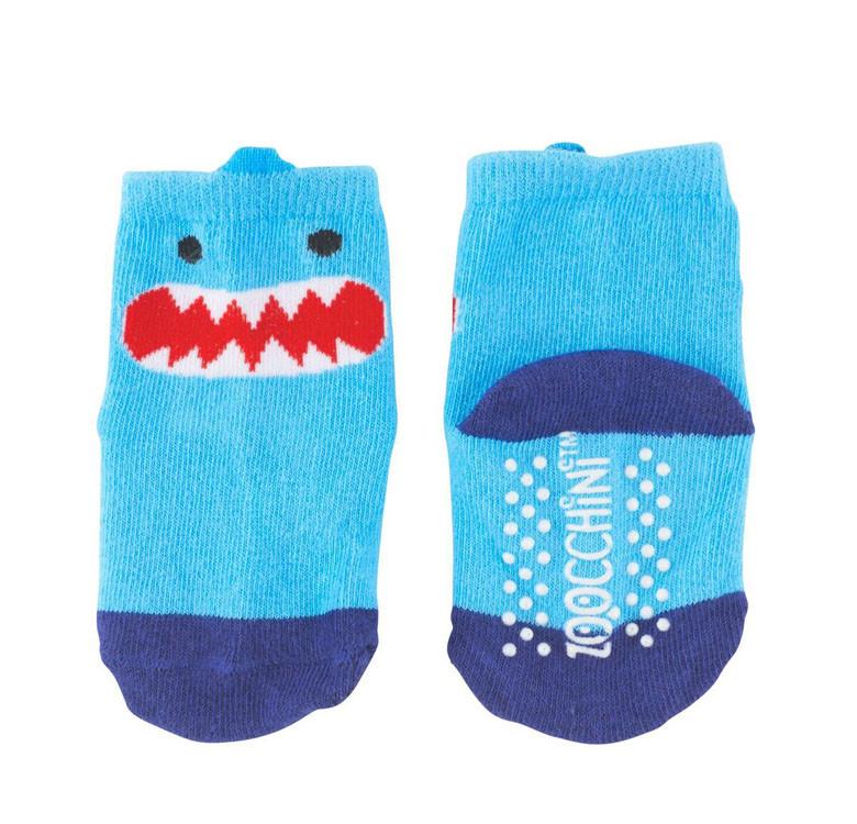 Sherman the Shark Grip+Easy Crawler Leggings & Socks