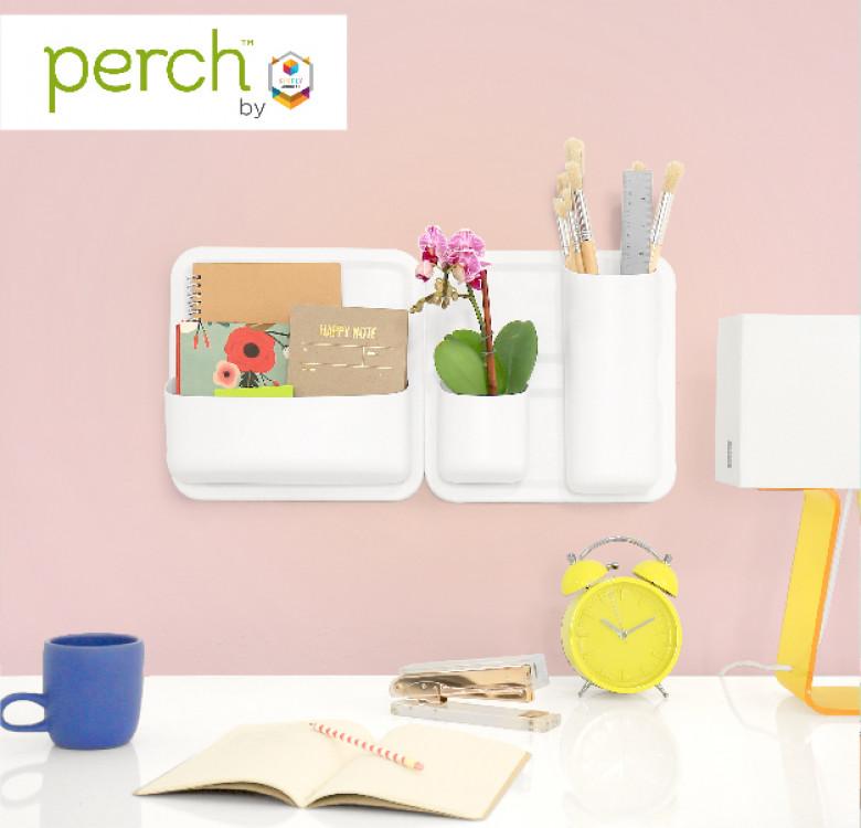 Perch Stumpy Magnetic Wall Storage