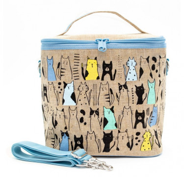 NEW! Large Cooler Bag (NL Curious Cats)