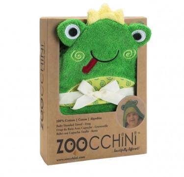 Flippy the Frog Baby Towel Hoodie