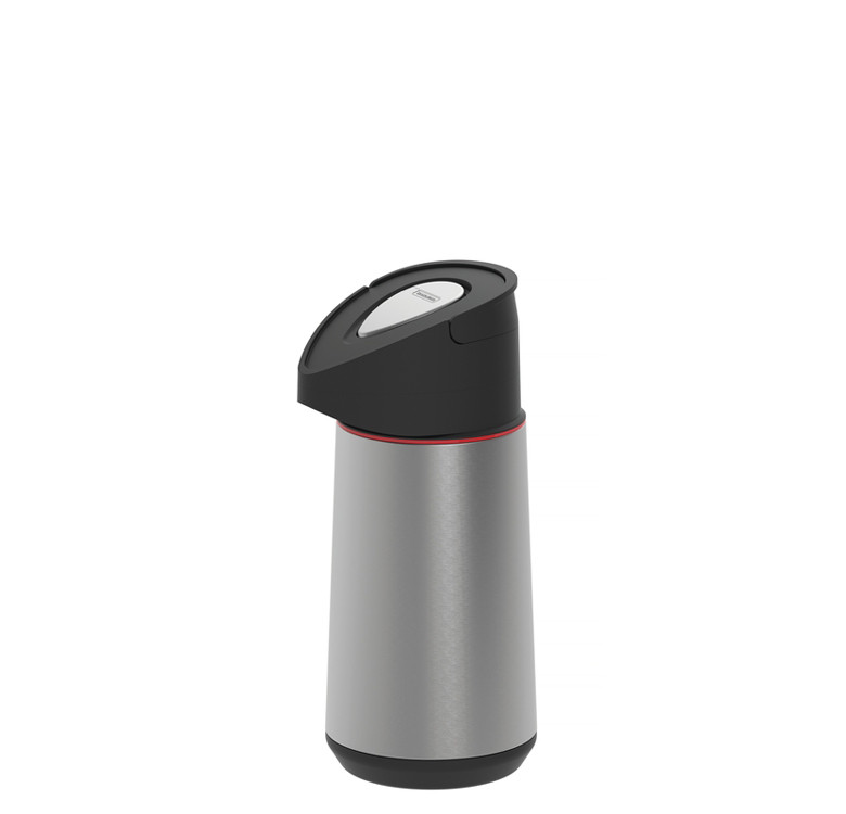 Thermos Bottle with Pump