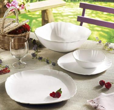 Lotusia 13-Piece Tableware Set