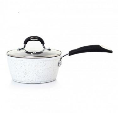 Stellar Marble Ceramic 18cm Saucepan