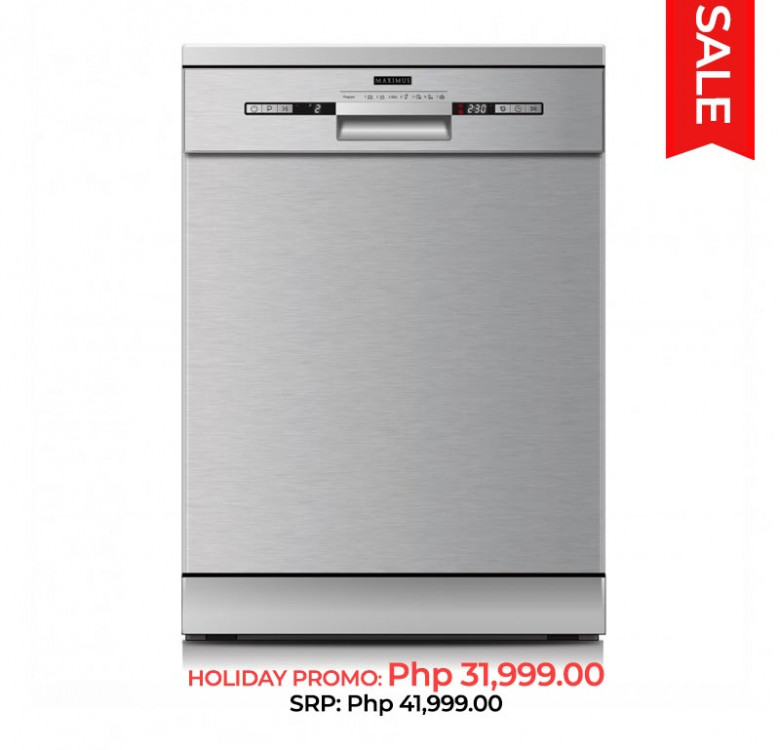 Freestanding Dishwasher MAX-D002S (12 Place Settings)