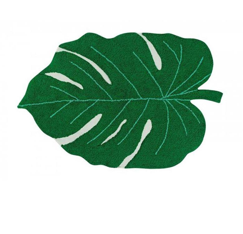 Lorena Canals Monstera Leaf Washable Rug