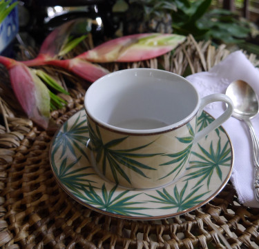 Solihiya Anahaw Teacup & Saucer Set