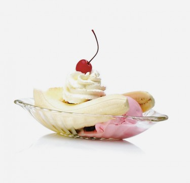 Alaska Banana Split Dish 8 Oz. Set of 6